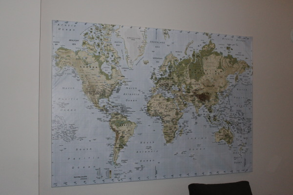 travel map ikea