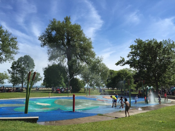Toronto Islands Splashpad