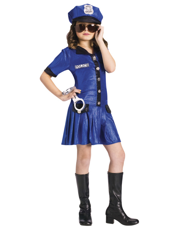 "When is the last time your kid said: ""I don't want to be a police officer mom. I want to be a sexy cop""."