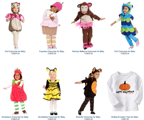 Old Navy Girls Costumes