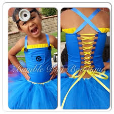 Your 6 year old minion doesn't need a corset.
