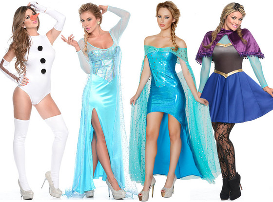 Sexy frozen Costumes