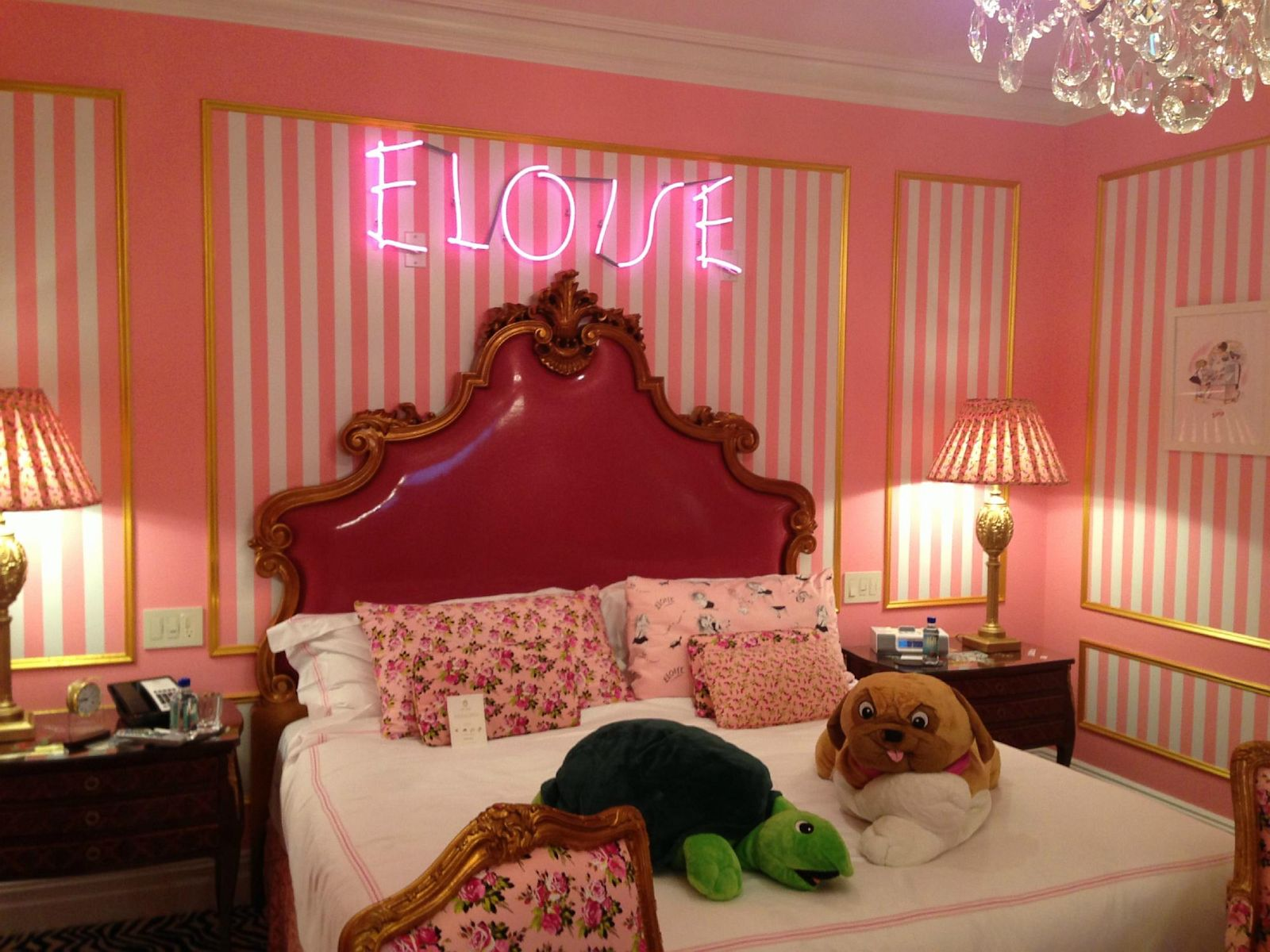 Eloise Suite At The Plaza Hotel New York