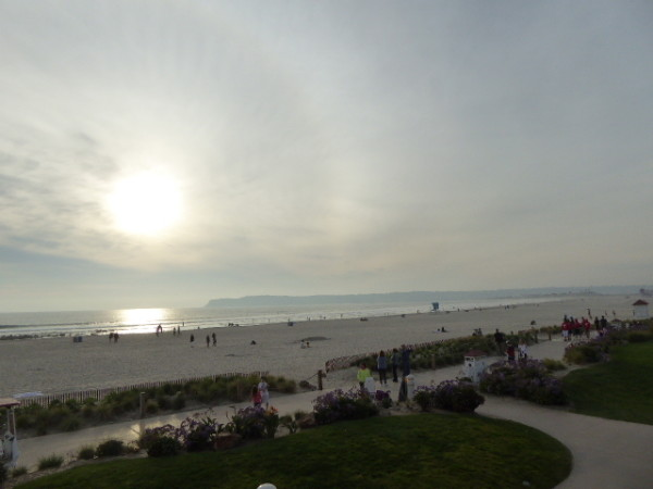 The Beach in Coronado