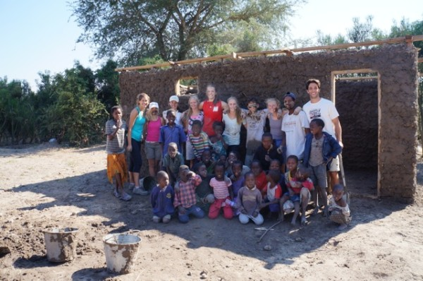 Home Building in Zambia with Unearth the World