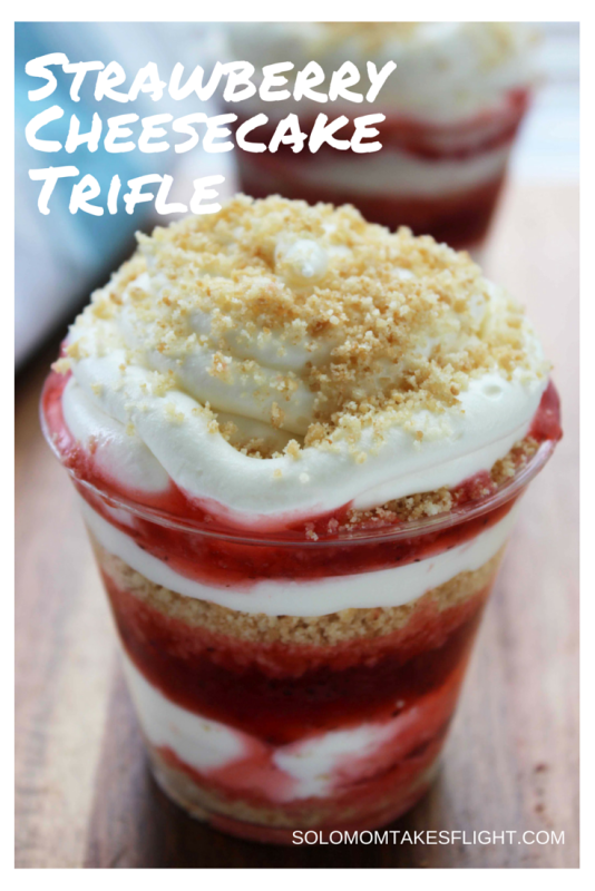 StrawberryCheesecakeTrifle