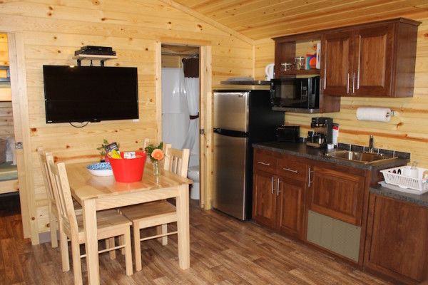KOA Deluxe Cabin