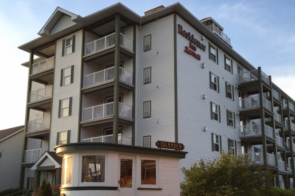 The Residence Inn in Muskoka Wharf Ontario