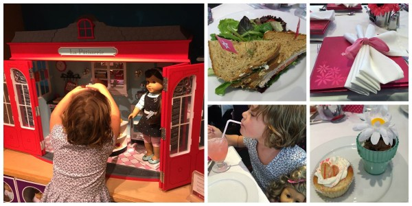 Visiting American Girl while staying at the Trump SoHo with kids