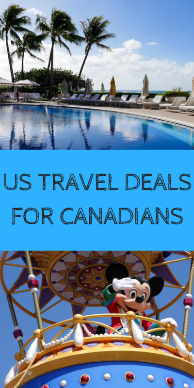 The best US deals for Canadians from Disney to at par ski resorts.