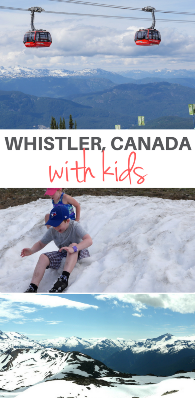 The Ultimate Guide To Whistler With Kids